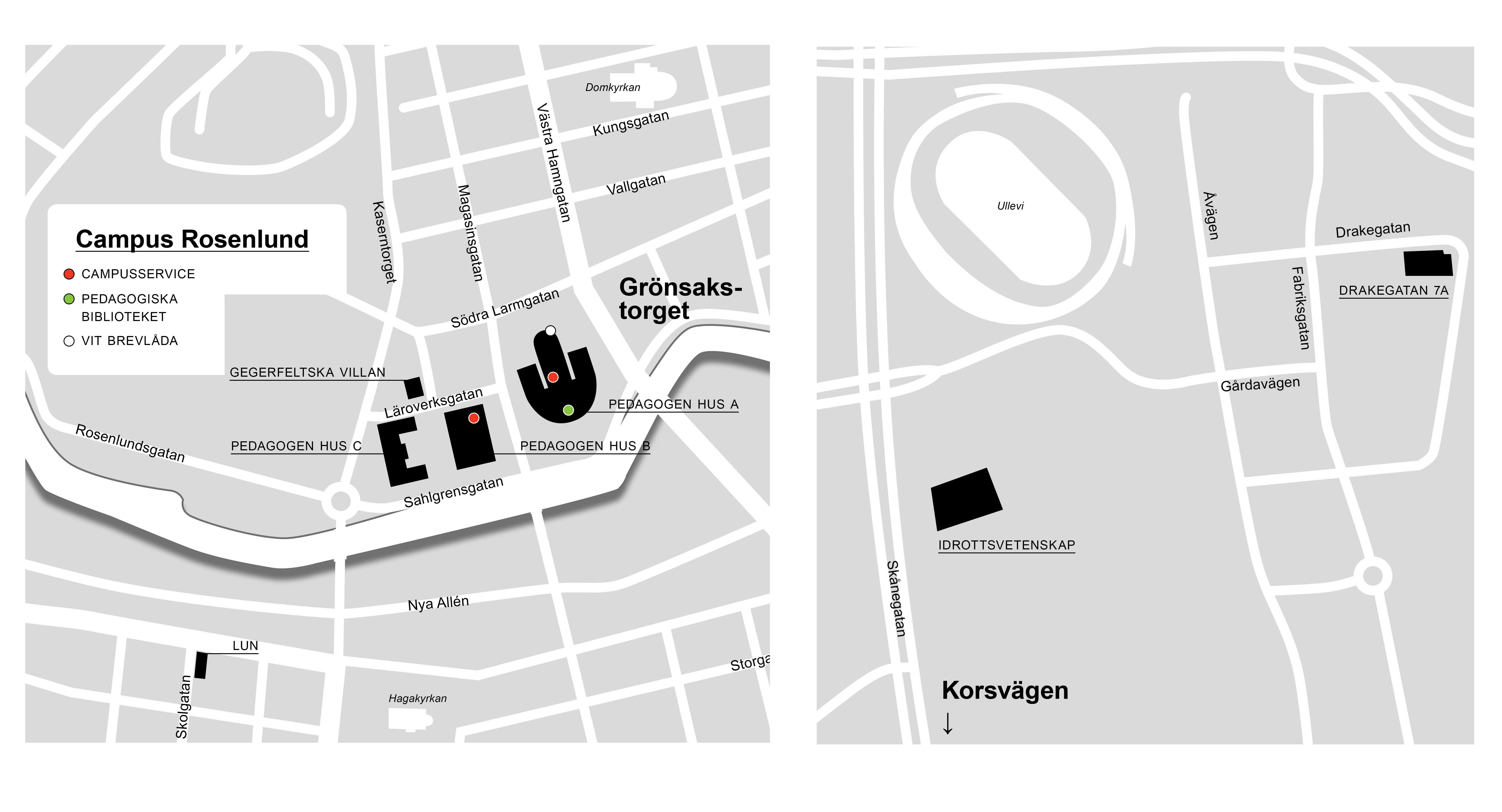 rosenlund göteborg karta Staff Portal   University of Gothenburg rosenlund göteborg karta